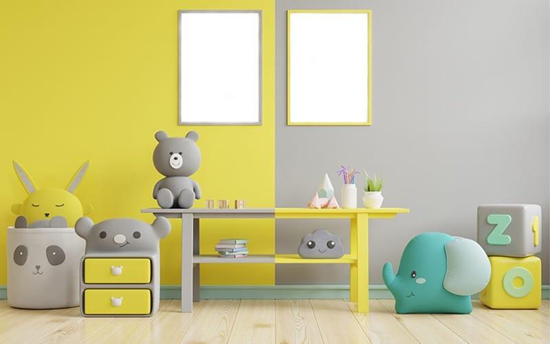 bebeğinizin odası i̇çin renk seçimi