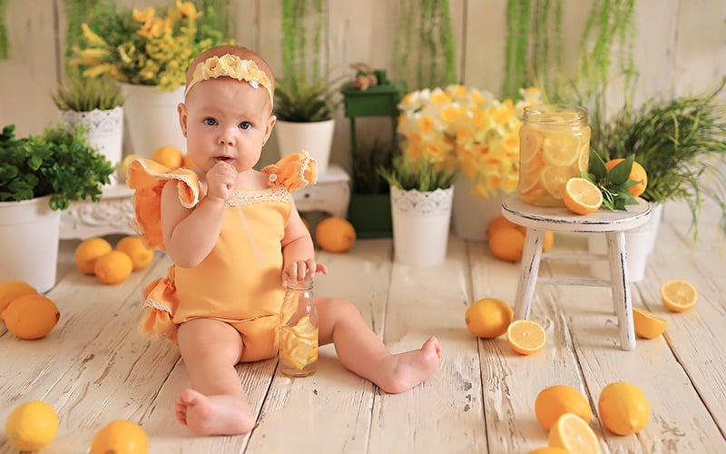 Bebekler ne zaman limon yiyebilir